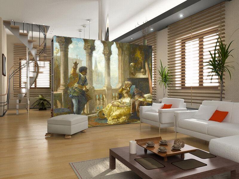 3D Hofmalerei 6 Tapete Tapeten Mauer Foto Familie Tapete Wandgemälde DE