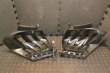 Yamaha Raptor 700 OEM Heel Guards Footpegs 08 Nerf Bars Heal Footrest   7-1