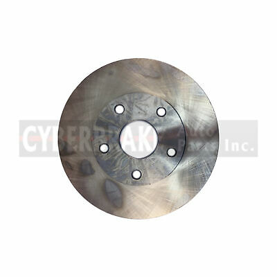 For 2005 Toyota Tacoma Front eLine Plain Brake Rotors Semi-Met Brake Pads