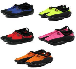 TruFit-Women-039-s-Swimshoes-Paneled-Mesh-Upper-amp-Rubber-Sole