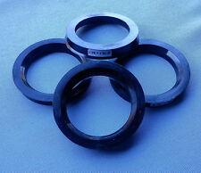 (1522) 4x Zentrierringe 79,1 / 60,1 mm schwarz für Alufelgen