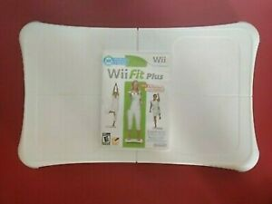 Nintendo Wii Fit Plus Balance Board Wii Bundle One Game/Tested