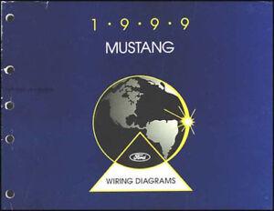 1999 Ford Mustang Factory Wiring Diagram Manual Original ...