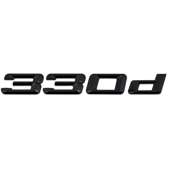 Matte Black Rear Boot Lid Trunk Badge Emblem Stick On For BMW X5M