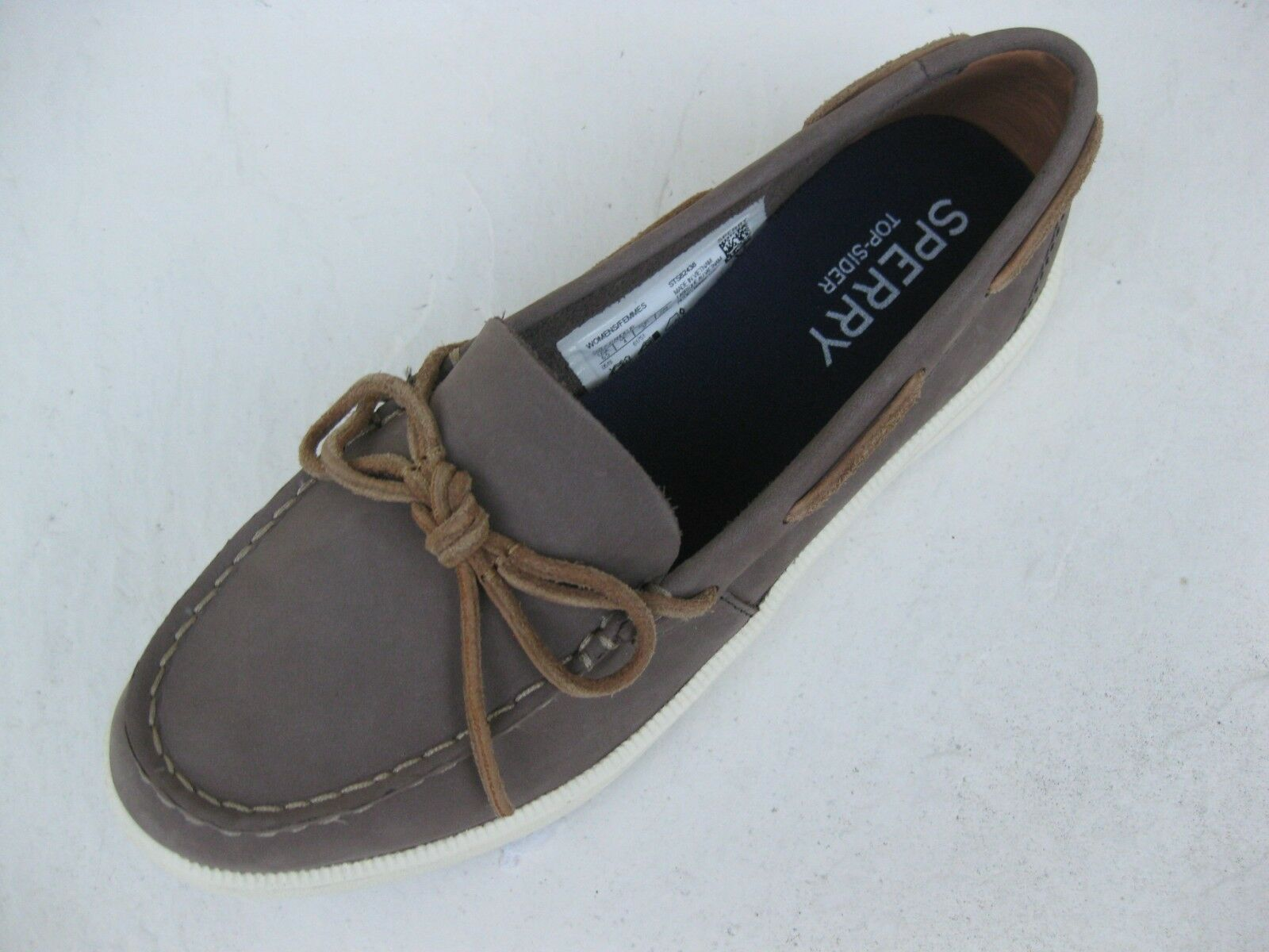 Sperry Topsider Womens shoes NEW  90 Oasis Canal Graphite Grey Leather 11 M