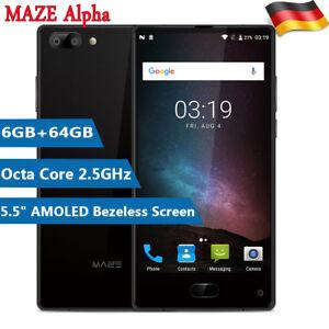 6gb 64gb 6 0 maze alpha 4g smartphone handy android 7 0. Black Bedroom Furniture Sets. Home Design Ideas