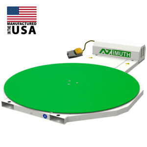 NEW-Pallet-Wrapper-Stretch-Wrapper-Turntable-59-034-Shrink-Wraper-AZIMUTH-300