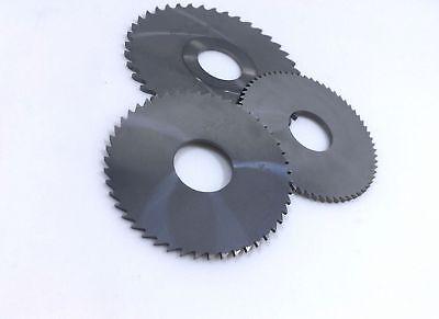 Solid Tungsten Carbide Circular Saw Blades 16 Teeth 4 pcs 40mm X 10mm X 0.6mm
