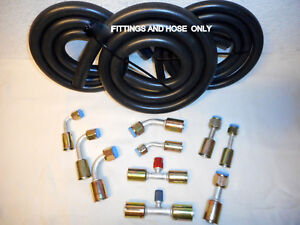 Air Conditioning Hose Kit O Ring Fittings Amp Hose Only