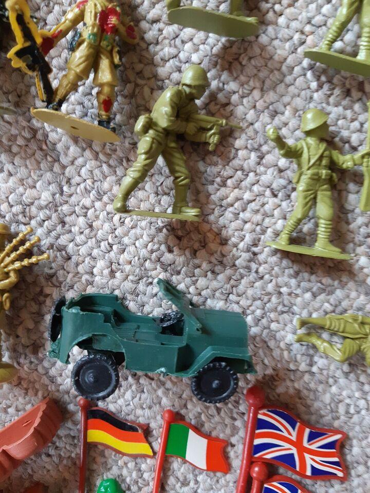Militær, Soldater