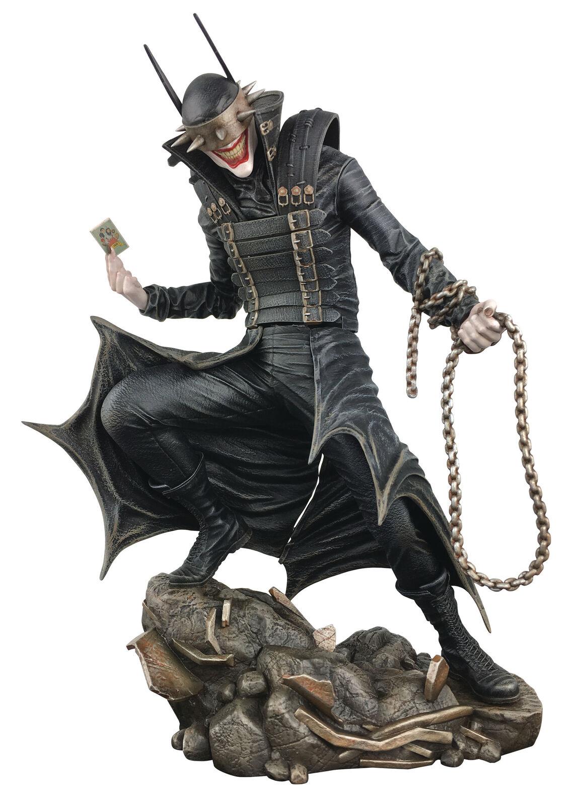 Dc Comic Galerie - Batman Qui Rires PVC Figurine