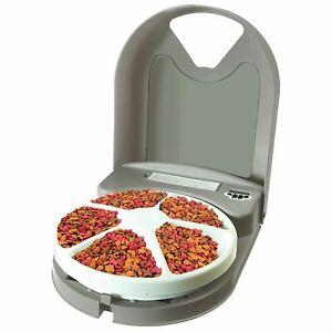 Petsafe Eatwell 5 Repas Mangeoire Automatique Chien/chat Day Programmation