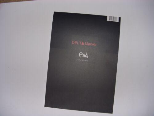 DIN A3-50 Blatt 70g//m² Delta Marker -//Mangablock 9056