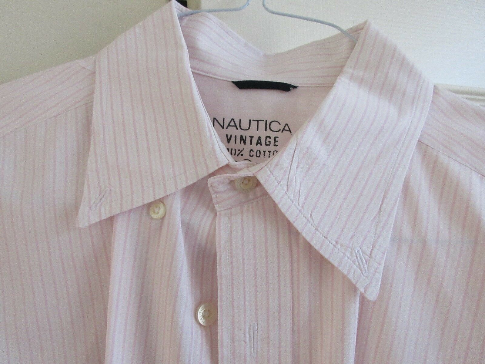 Nautica , Vintage , , Men's Shirt , Long Sleeve , L , 1