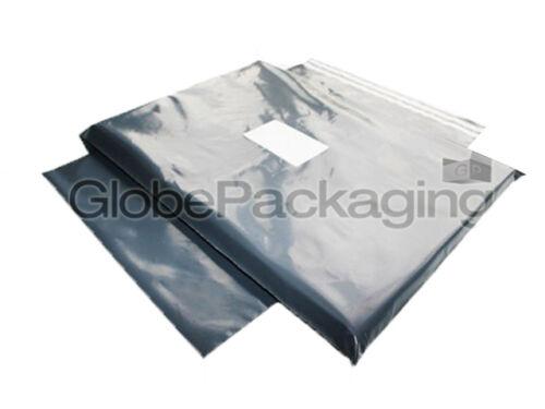 """350x400mm * 24H * 2000 gris solide 14 /""""x16/"""" frais de port postaux sacs de diffusion 14x16 /"""""""