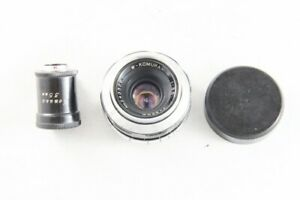 Rare-W-Komura-35mm-f-3-5-F-3-5-Objektiv-fuer-Leica-l39-Screw-Mount-aus-Japan-1546
