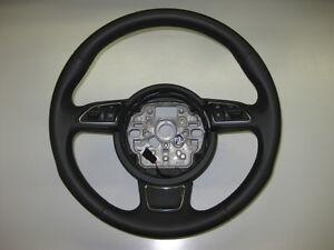 AUDI-A6-4g-A7-A1-8x-s-line-sport-Multifuncional-VOLANTE-CUERO-DE-y174