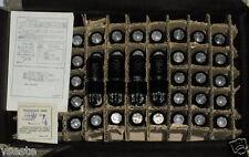 STRONG MATCHED PAIR 6P6S NOS Tubes / 6V6 / 6AY5 / 587.NOS 70's Year