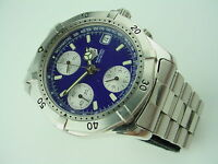 TAG HEUER AUTOMATIC 200 METERS CHRONOGRAPH DATE BLUE DIAL MEN'S WATCH CK2111