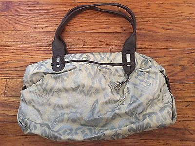 Stella And Dot How Does She Do It Tote Painted Ikat Euc Ebay