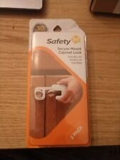 Safety 1st Secure Mount Cabinet Lock 2 Count Free Shipping New