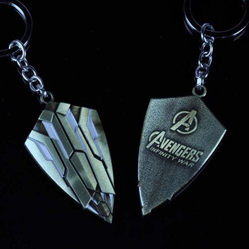 Marvel Avengers Infinity War Captain America Shield Alloy Key Chains Keychain