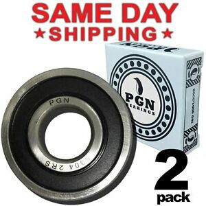 20x52x15 10 QTY 6304rs 6304-2RS C3 Premium Rubber Sealed Ball Bearing