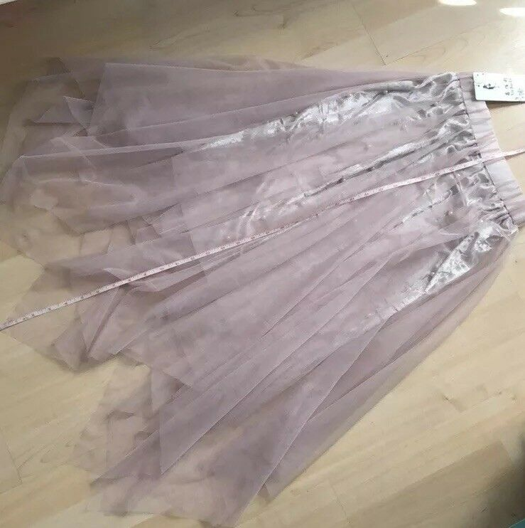 New LACE SKIRT Layered Party Wedding Dressy XS