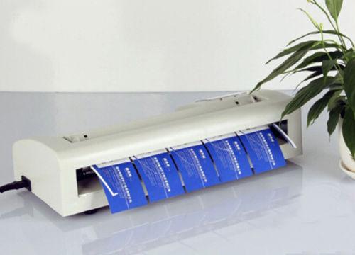 Automatic Electric  A4 Paper Business Card  90x 54mm Cutter Cutting Machine 110V