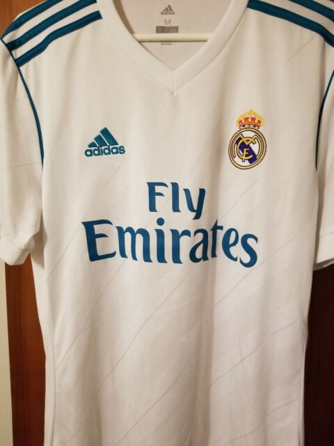 the best attitude a45e8 cc7f6 Real Madrid adidas 2017/18 Home Jersey - White - New with no tags-Medium
