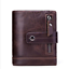 Unisex-Genuine-Leather-Cowhide-Wallet-Trifold-Credit-Card-ID-Holder-Zip-Purse thumbnail 22