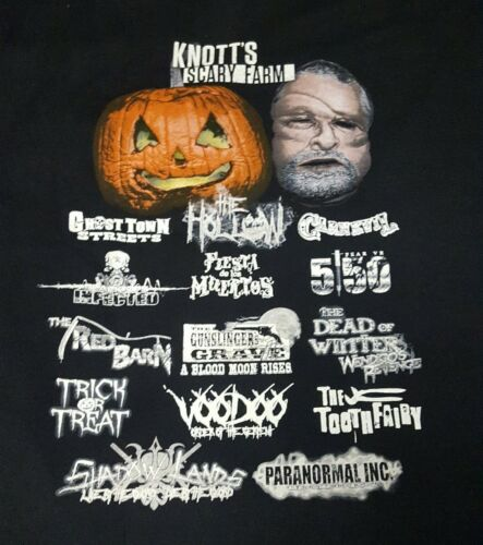 X-LARGE Knott/' Scary Farm 2016 EMPLOYEES ONLY Shirt