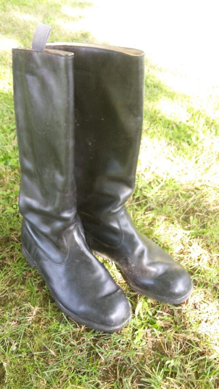 Billig Chromleder hohe Qualität Stiefel - Chromleder Billig - Glattleder 5ea307