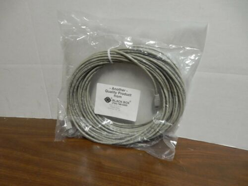 350-MHZ PATCH CABLE 24AWG 4PAIR BLACK BOX EVNG85-0050 CAT5E CABLE RJ45//45 50FT