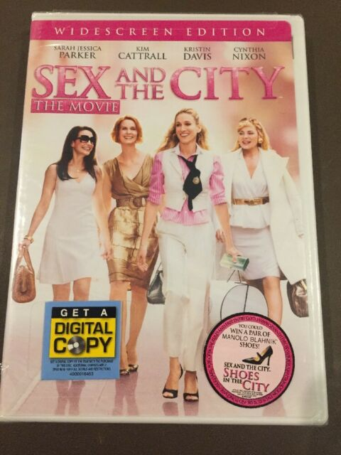 DVD154 Sex and the City - The Movie (DVD, 2008, Widescreen)
