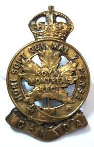 Badge du 14th Canadian Infantry Battalion (CEF)