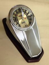 Fat Bob Dash Cover Clock  Harley FL Style