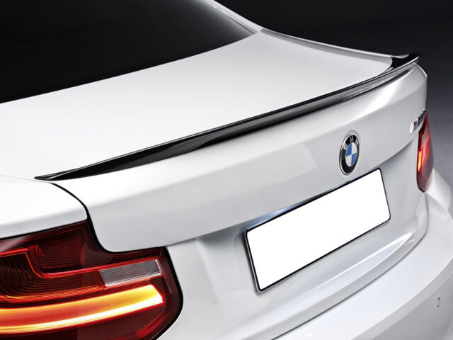 Rear wing - boot spoiler BMW 2 F22, genuine, carbon 51622334541 - MATT