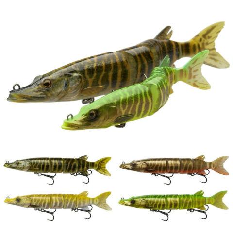 Savage Gear 3D Hard Pike 20cm 26cm SS Swimbait Hecht Wobbler Werfen /& Schleppen