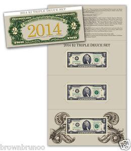 2013 Dallas In Hand 2009 San Francisco 2015 $2 Triple Deuce Set 2009 New York