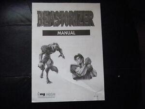 Dashing Beastorizer 8ing Razing Game Owners Manual Arcade, Jukeboxes & Pinball