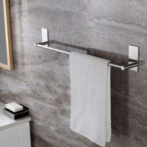 Details zu Selbstklebender Edelstahl Handtuchhalter Handtuchstange Ohne  Bohren Küche Bad