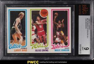 1980 Topps Basketball Larry Bird & Magic Johnson ROOKIE RC BVG 9 MINT