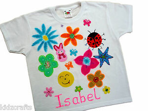 Image Is Loading Children 039 S T Shirt Painting Party Kit Choose