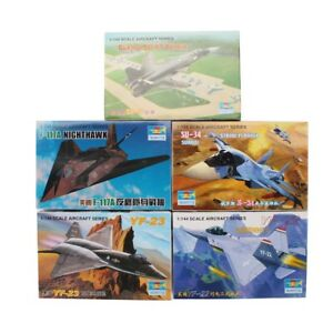 5PCS-Trumpeter-1-144-Aircraft-Fighter-Plastic-Military-Model-Assemble-Kit