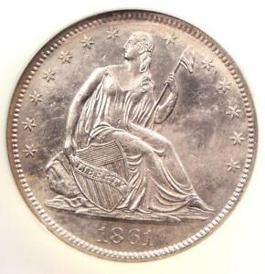1861-O-Seated-Liberty-Half-Dollar-50C-W-03-NGC-SS-Republic-Shipwreck