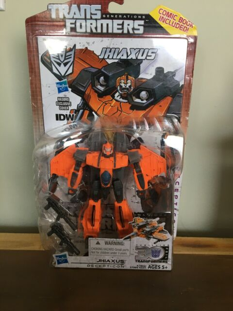 Transformers Generations - Deluxe - JHIAXUS - MOC - Video Game Style