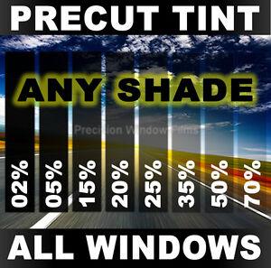PreCut Window Film 5/% VLT Limo Black Tint for Nissan Versa Sedan 2012-2016