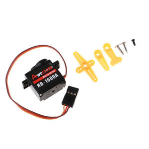Details about HD1600A 6G High Torque Micro Servo Motor for Trex 450 EPO  Foam RC Airplane
