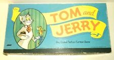 vtg rare 1948 TOM and JERRY Board Game Loew's / Milton Bradley 100% COMPLETE